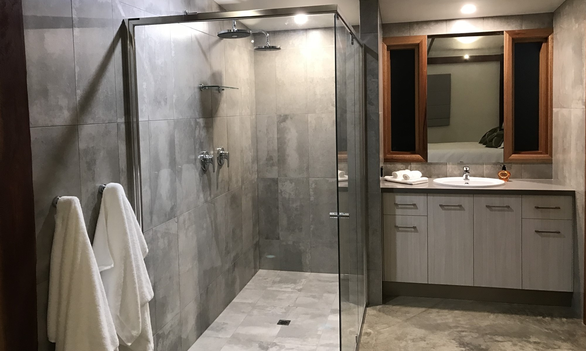 Amazing facilities - we have had many comments about the double shower!